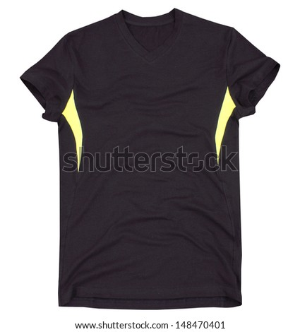 Sports t-shirt isolated on a white background