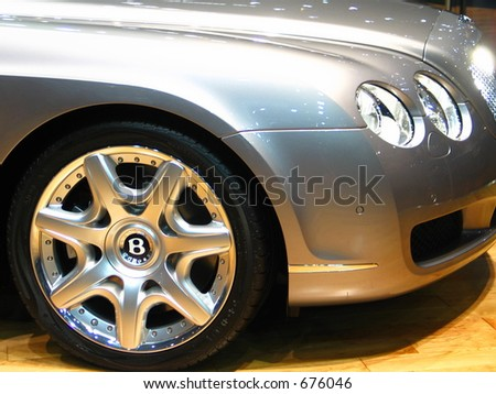 Sports Wheel - stock photo