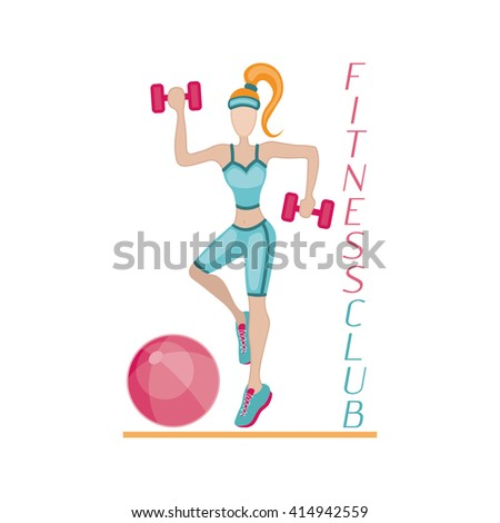 Sportswoman. element for sport motivation posters. Run motivation. Good for sport editions, fitness club, magazines and websites. Isolated objects on white background - stock photo