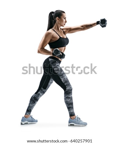 Workout Photography: Bodybuilder Woman Stock Images, Royalty-Free Images