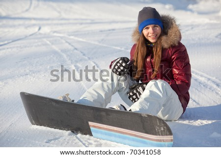 Sporty woman - stock photo