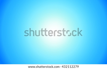 Spot light on Blue background