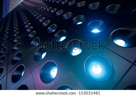spotlights 04 - stock photo