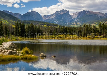 Sprague Lake at Rocky Mountain National Park