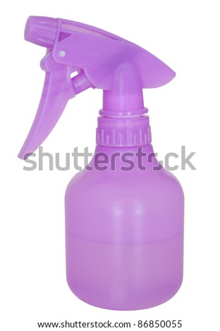 spray bottle - stock photo