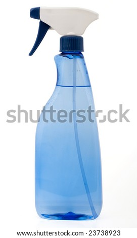 Spray Bottle isolated on a white background - stock photo