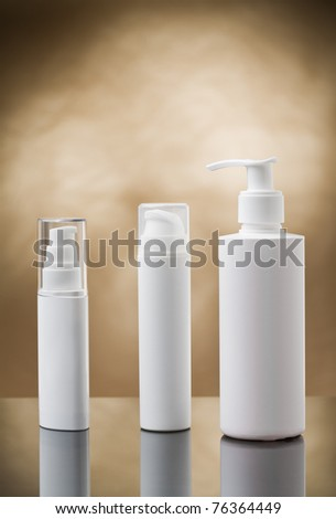 sprays copyspace - stock photo