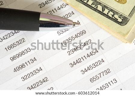 spreadsheets for bills