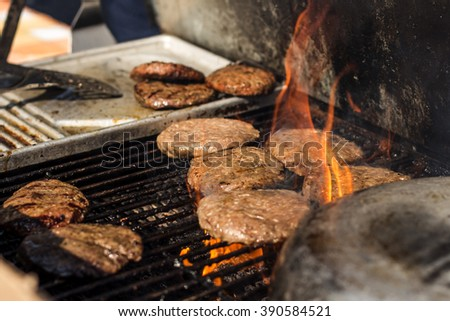Spring Barbeque in London