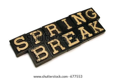 Spring Break - stock photo