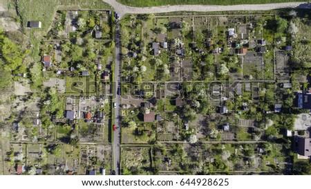 spring garden enclosures from the birds eye view - Garden Design Birds Eye View