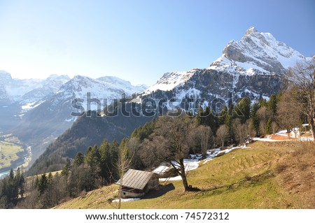 Spring in Braunwald, Switzerland