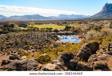 Spring Mountain Ranch State Park - stock photo