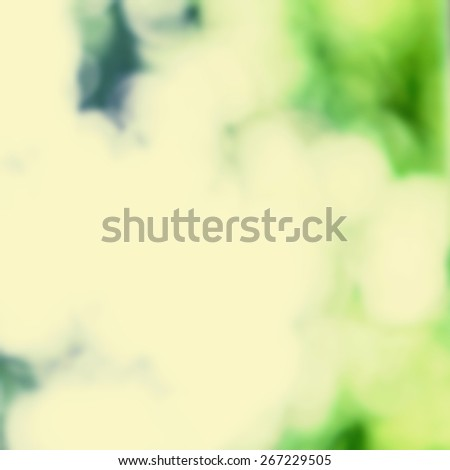 Spring Natural background with abstract defocused bokeh lights - stock photo