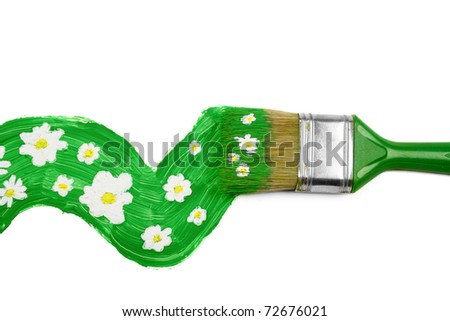 Spring time concept - stock photo