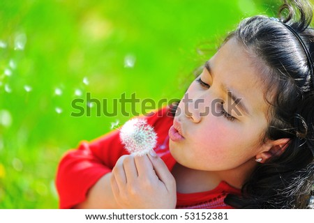 Spring time outdoor - stock photo