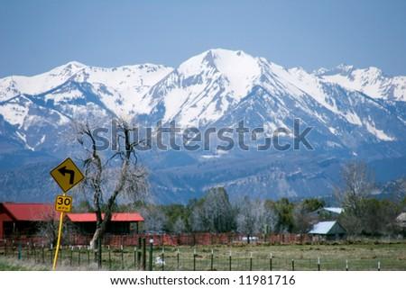 Springtime in Colorado. - stock photo