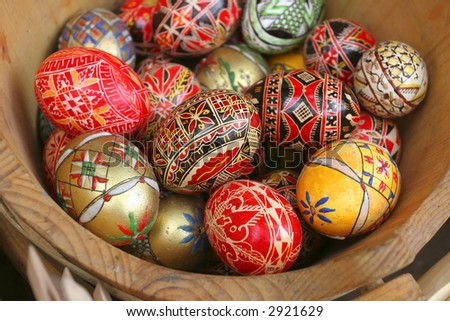 Springtime - Traditional Eastern Eggs