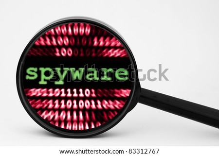 Spyware - stock photo