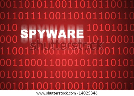 Spyware Abstract Background in Web Security Series Set - stock photo