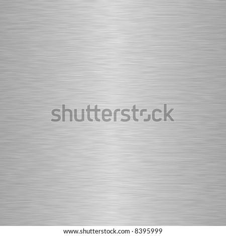 square aluminium metal background - stock photo