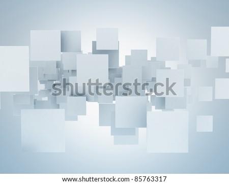 Square blank background - stock photo
