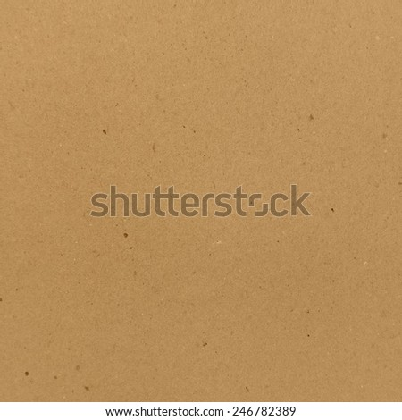 Square clean cardboard texture. Photo texture for your design - stock photo