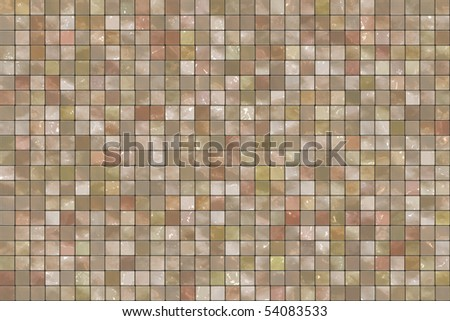 Square colorful mosaic tiles background - stock photo