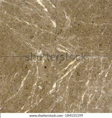 Square marble tiles background - stock photo