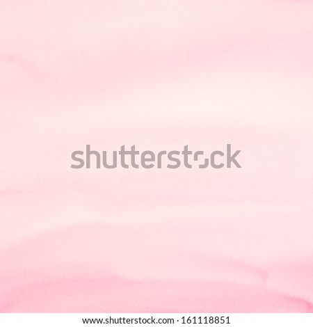 Square pink watercolor paper as background - stock photo