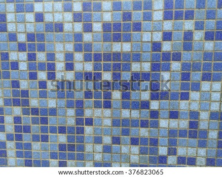 Square texture wall