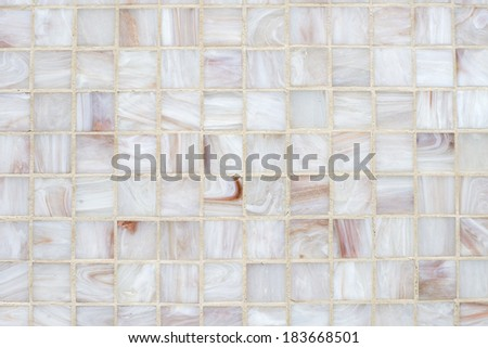 square tiles in marble  - stock photo