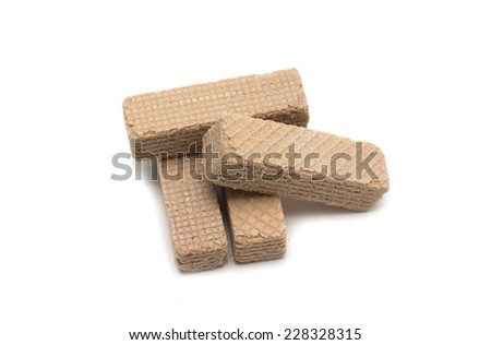 Square wafers.