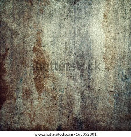 Square wall  - stock photo