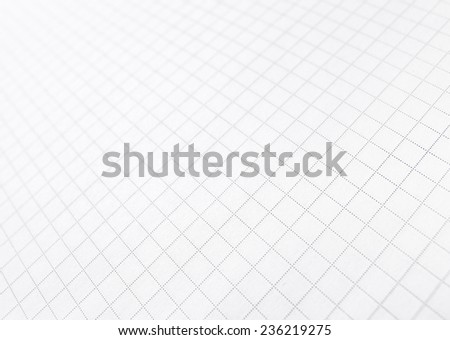 squared paper, abstract background - stock photo