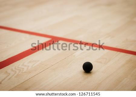 Squash ball - stock photo
