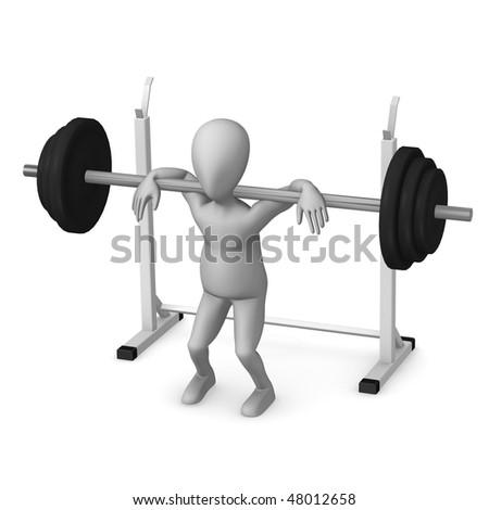 squat - stock photo