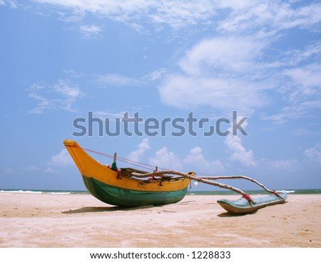 Sri Lanakan fishing boat