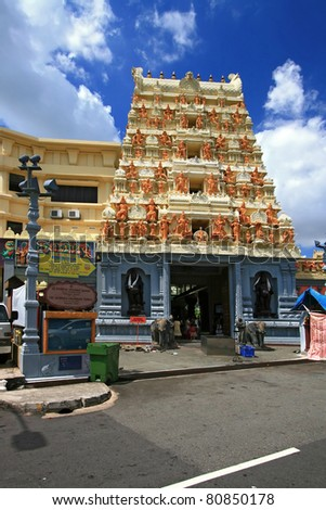Sri Senpaga Vinayagar Temple, Hindu and Indian Style, in Singapore