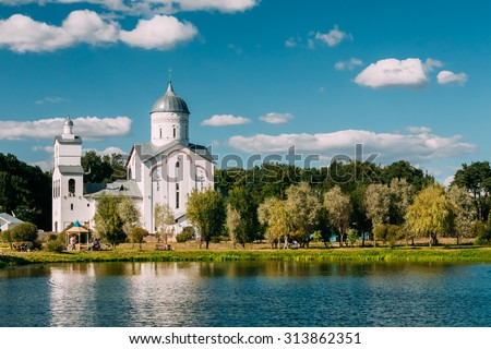 St. Alexander Nevsky Church in Gomel, Belarus. Building of Orthodox Church.