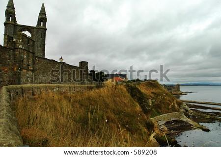 St Andrew's, Scotland - stock photo