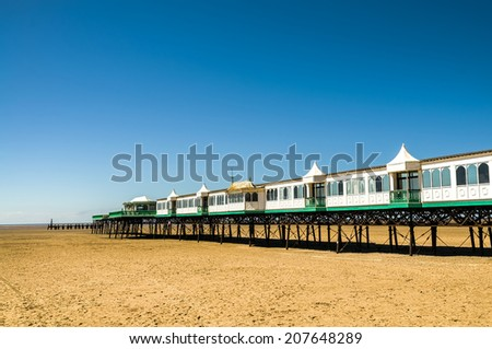 St Anne's Pier - stock photo