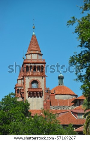 St. Augustin - stock photo