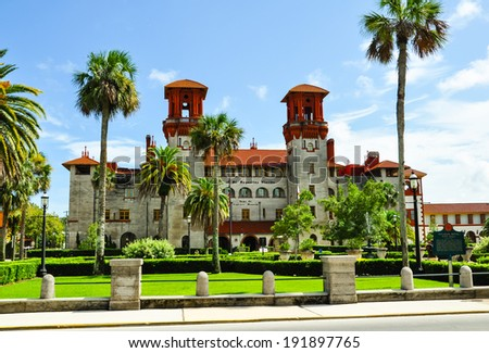 st. augustine city hall, florida - stock photo