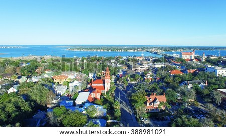 St Augustine, Florida. - stock photo