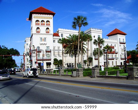 St. Augustine Florida - stock photo