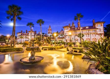 St. Augustine, Florida, USA. - stock photo