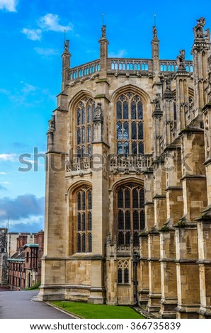 St. George's Chapel in Windsor, England