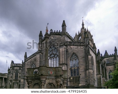 St Giles Cathedral is the principal place of worship of the Church of Scotland in Edinburgh.