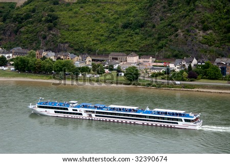 St Goar, Germany on the Rhine